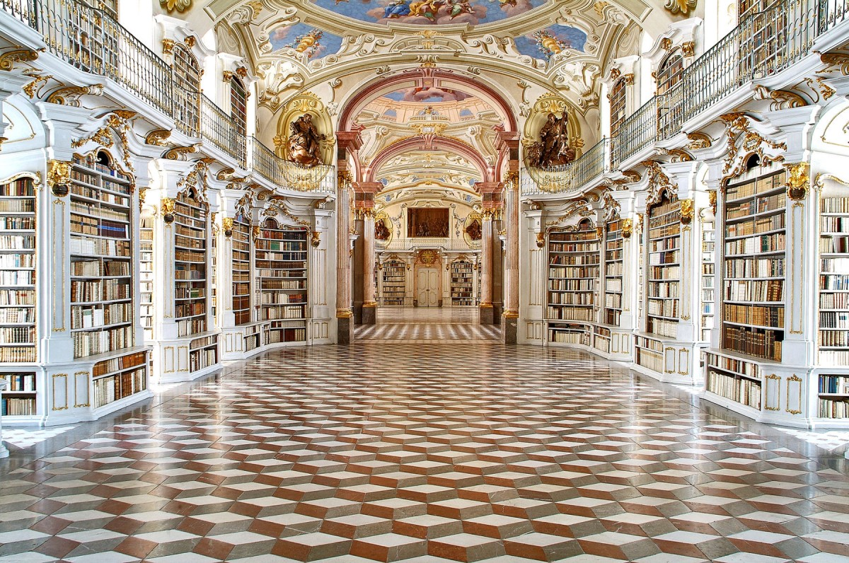 Image result for Admont Abbey Library